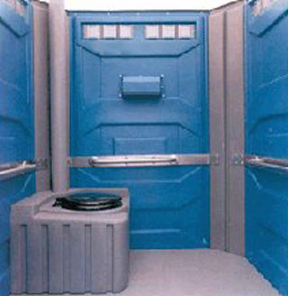 portable toilet hire for disabled people requiring wheelchair access